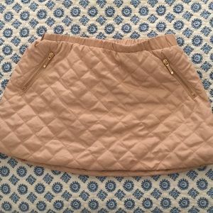 Other - Janie and Jack quilted skirt NWOT